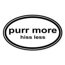purr more Bumper Stickers