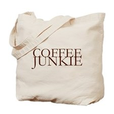 Coffee Junkie Tote Bag