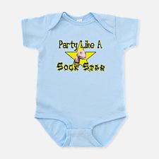 Party Like A Sock Star Onesie