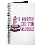 I Sing On The Cake Journal