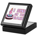 I Sing On The Cake Keepsake Box