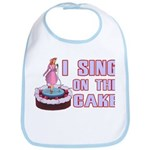 I Sing On The Cake Bib