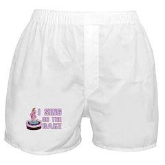 I Sing On The Cake Boxer Shorts