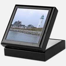 Old Scituate Lighthouse Keepsake Box