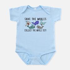 Save The Whales Set Infant Bodysuit