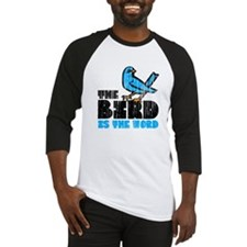 The Bird is the Word Baseball Jersey