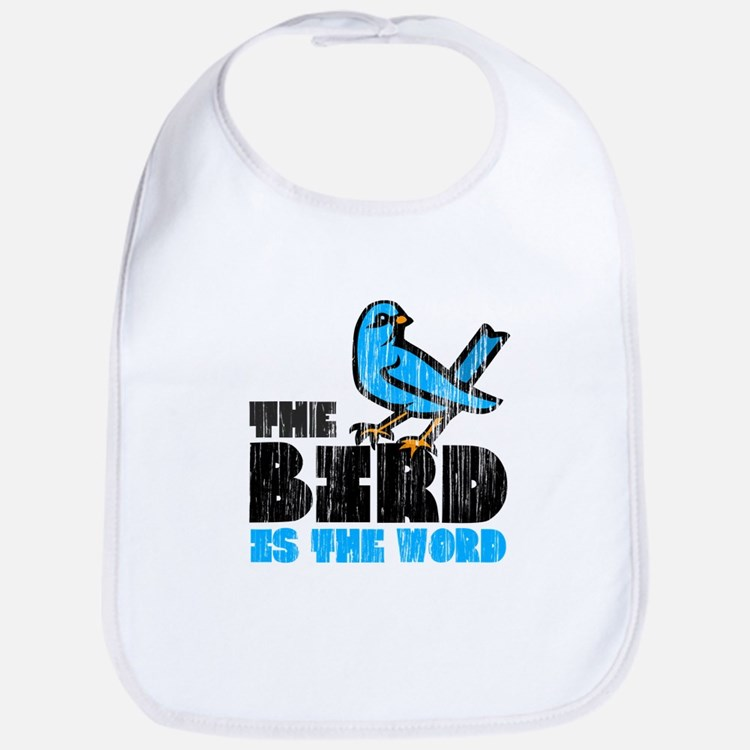 The Bird is the Word Bib