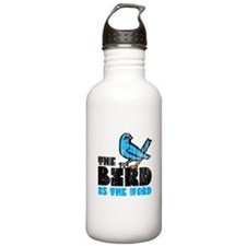 The Bird is the Word Water Bottle
