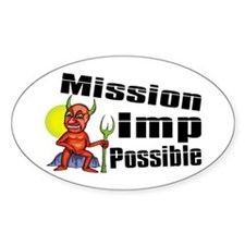 Mission Imp Possible Decal