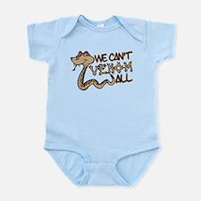 We Can't Venom All Infant Bodysuit