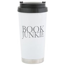 Book Junkie Travel Coffee Mug