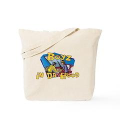 Boyz In Da Hood Tote Bag