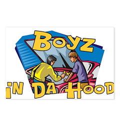 Boyz In Da Hood Postcards (Package of 8)