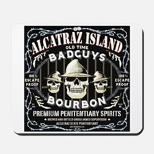 ALCATRAZ ISLAND BAD GUYS BOUR Mousepad