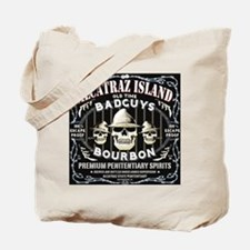ALCATRAZ ISLAND BAD GUYS BOUR Tote Bag
