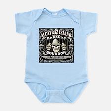 ALCATRAZ ISLAND BAD GUYS BOUR Infant Bodysuit