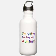 Going to be an Auntie Water Bottle