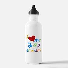 I Love My 2nd Graders Water Bottle
