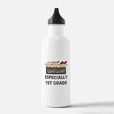 1st Grade is Cool Water Bottle