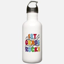 Bright Colors 1st Grade Water Bottle