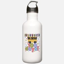 Celebrate 100 Days of School Water Bottle
