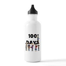 School Children 100 Days Water Bottle