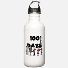 School Children 100 Days Water Bottle