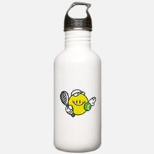 Smile Face Tennis Water Bottle