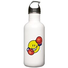 Smile Face Boxing Water Bottle
