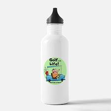 Golf is Life Water Bottle