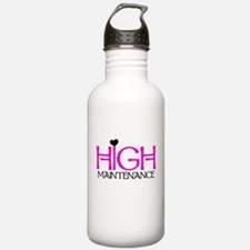 High Maintenance Water Bottle