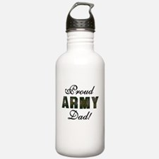 Proud Army Dad Water Bottle