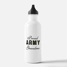 Proud Army Grandma Water Bottle