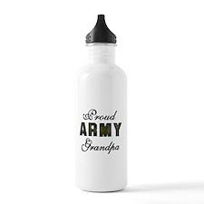 Proud Army Grandpa Water Bottle