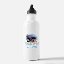 World War II Veteran Water Bottle