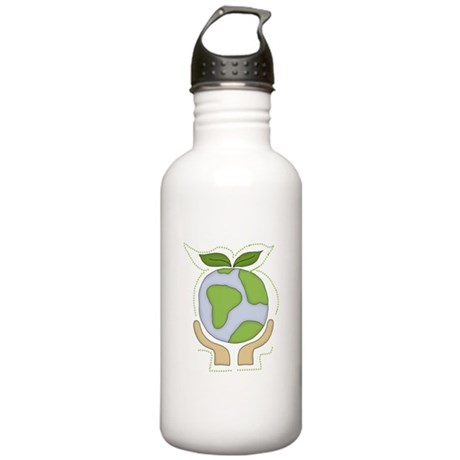 Earth in Our Hands Stainless Water Bottle 1.0L