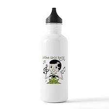 Latina Girls Rock Water Bottle