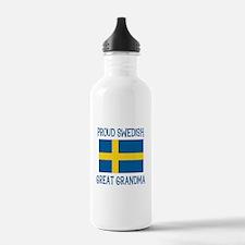 Swedish Great Grandma Water Bottle