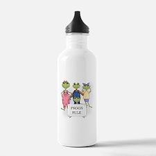 Frogs Rule Water Bottle