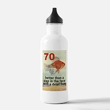 70th Birthday Water Bottle