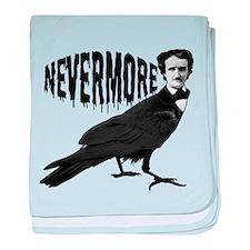 Nevermore baby blanket
