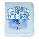 Exodus baby blanket