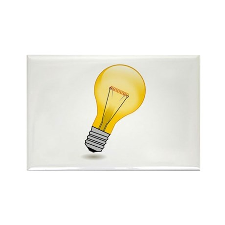 Bright Idea Rectangle Magnet (10 pack)
