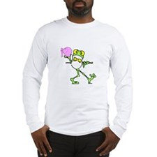 Frog and Elephant Long Sleeve T-Shirt