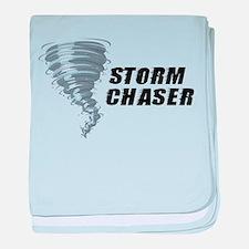 Storm Chaser baby blanket