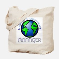 World's Greatest Manager Tote Bag