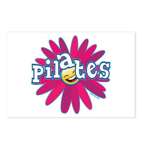 Pilates Flower by Svelte.biz Postcards (Package of