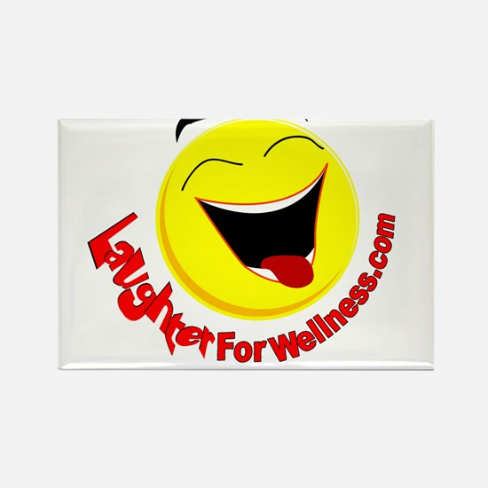 Laughter for Wellness Rectangle Magnet
