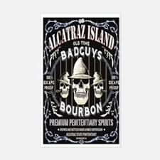 ALCATRAZ ISLAND BAD GUYS BOUR Decal