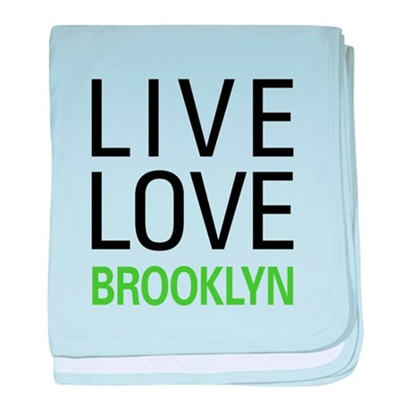 Live Love Brooklyn baby blanket
